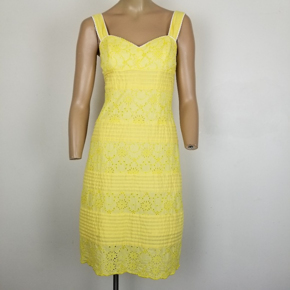 Lilly Pulitzer Dresses & Skirts - Lilly Pulitzer Yellow Kinsey Short Casual Dress 2